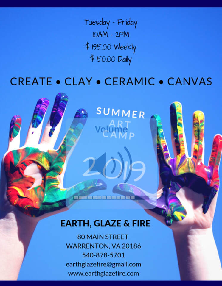 Earth, Glaze & Fire Summer Camps